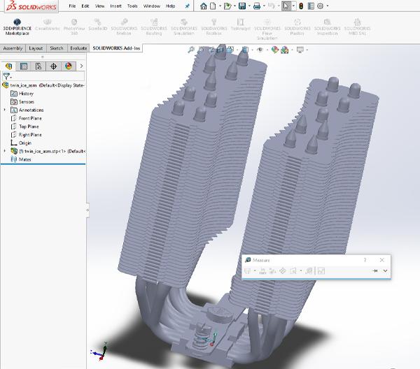Thermal Heatsink Design Engineering with 3D CAD
