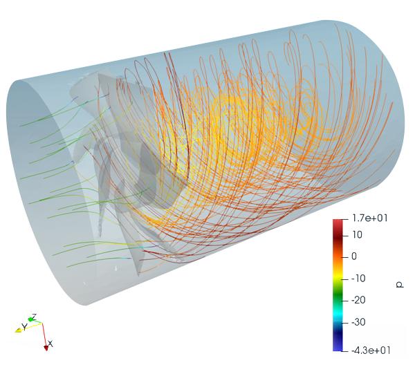 Thermal Graphic Simulation to determine air movement, circulation, temperature exchange, and achieved temperature
